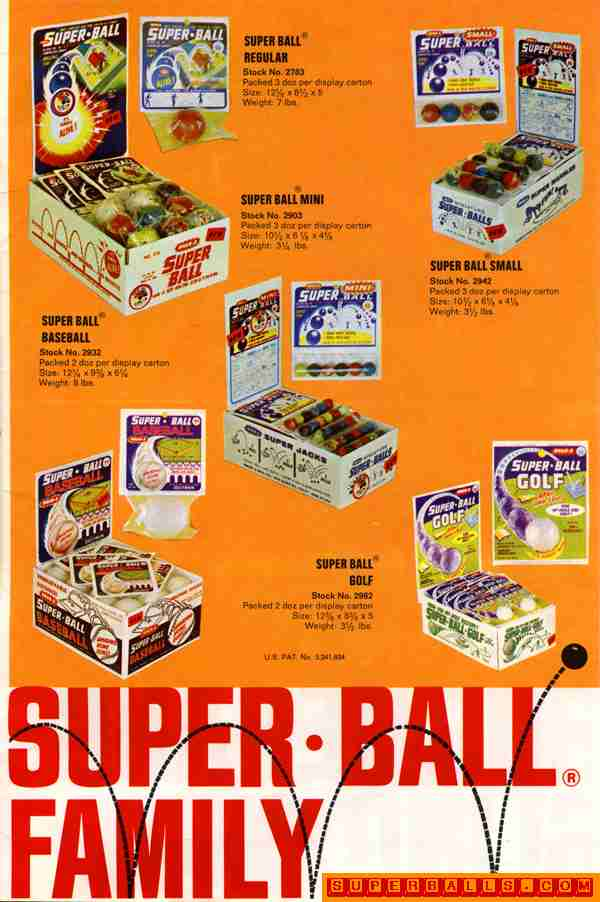 "Super Ball � Family Super Ball � Family as appeared in 1966 ""Playthings Magazine"""